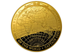 Coins Australia 2018 Gold Proof Domed Coin 1812 A New Map Of The World