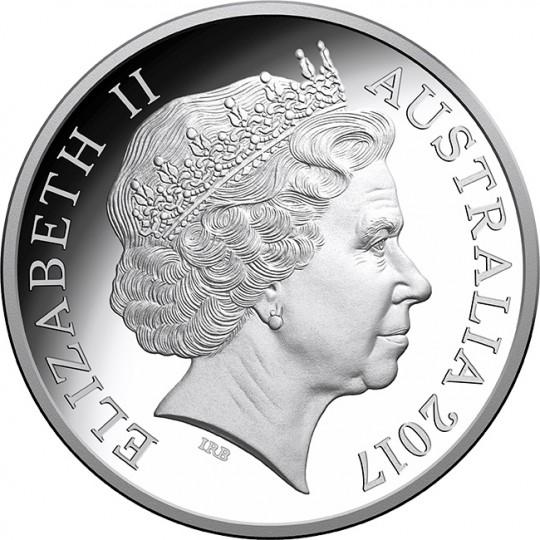 Coins Australia 2017 Kangaroo At Sunset One Dollar