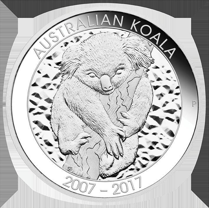 Coins Australia 2017 10th Anniversary Australian Koala