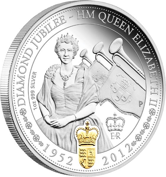 Coins Australia 2012 Queen Elizabeth Ii Diamond