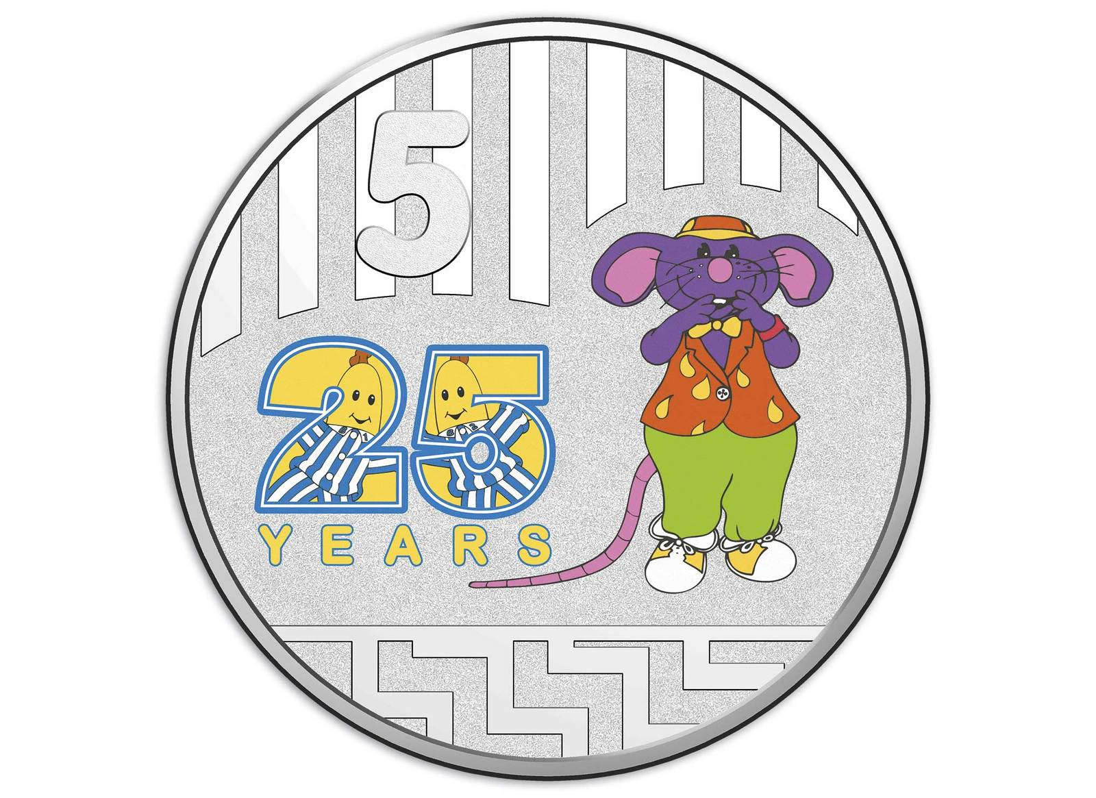 5c UNC Coins 2017 Australia PNC 20c Bananas in Pyjamas 25 years