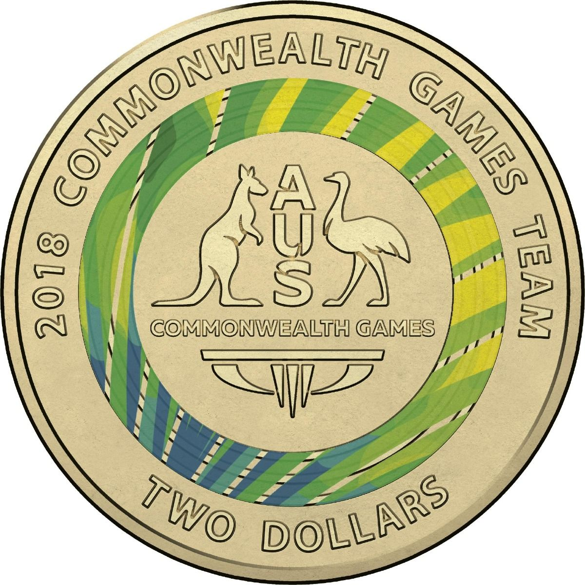 commonwealth games coins value