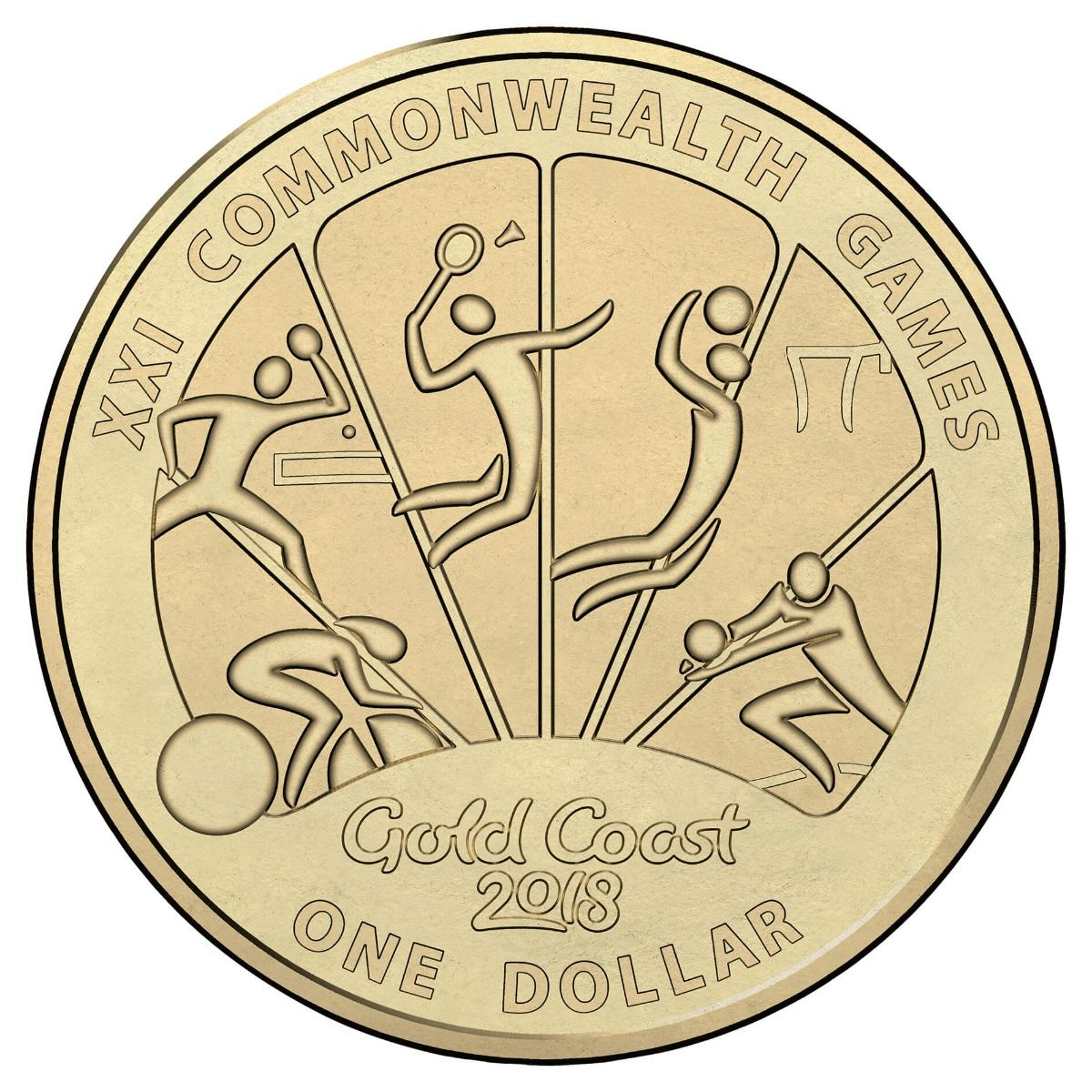 Coins Australia 2018 1 Amp 2 Commonwealth Games 7 Coin Collection