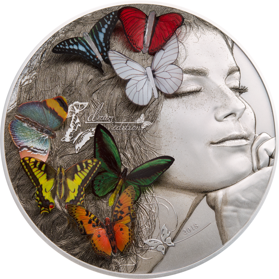 Coins Australia 2018 Exotic Butterflies Dream Edition