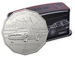 2018 HOLDEN MOTORSPORT SEVEN COIN COLLECTION,FULL SET