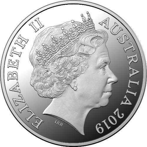 2019 $5 Ag 1oz Silver Coin Lunar Calendar Year of the Pig