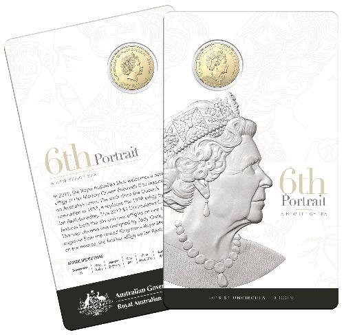 Ian Rank-Broadley IRB ex RAM Mint Bag 2019 Australia $1 UNC Coin