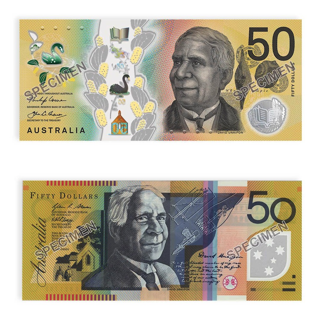 Coins Australia 2018 Rba Two Generations Of 50