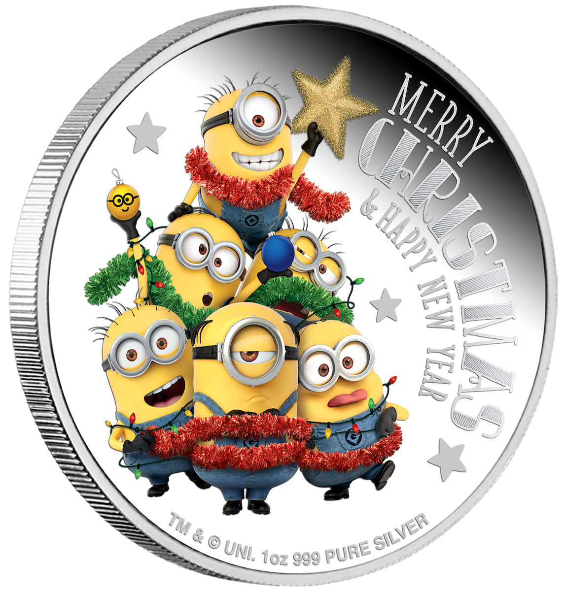 Coins Australia 2018 Minion Made Season S Greetings