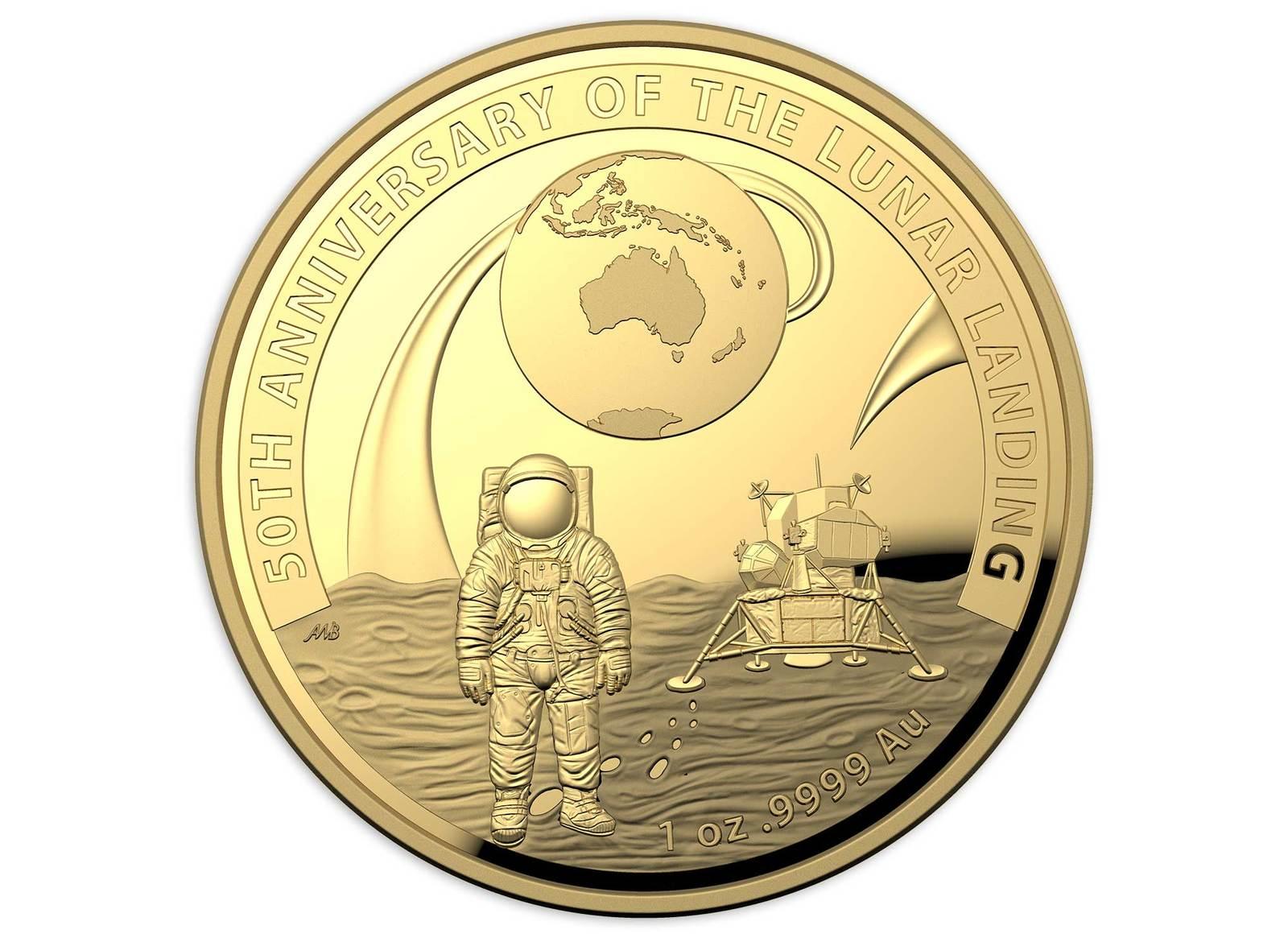 Coins Australia 2019 50th Anniversary Of The Lunar