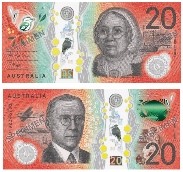 In Stock 2018 RBA Next Generation of $50 Uncirculated Banknote Folder