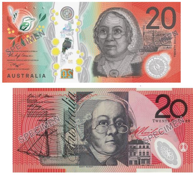 NEW 2019 Australian RBA Official Folder 20 Dollar Both Generation Pair UNC