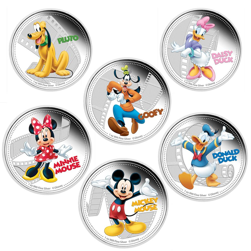Coins Australia Disney Mickey Amp Friends 2014 1oz Silver