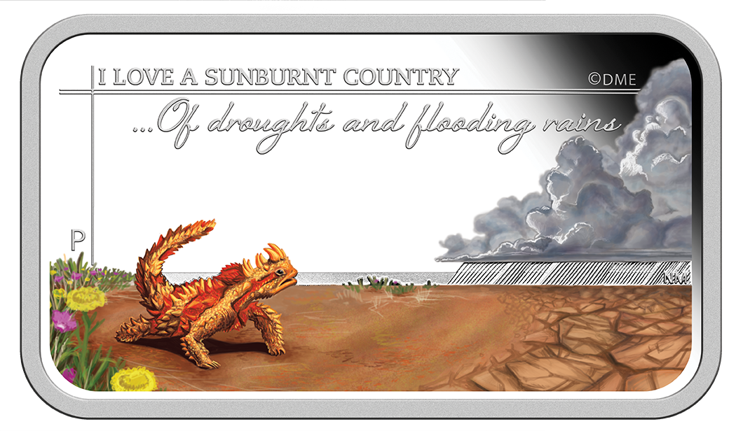 Coins Australia 2015 Sunburnt Country A Land Of