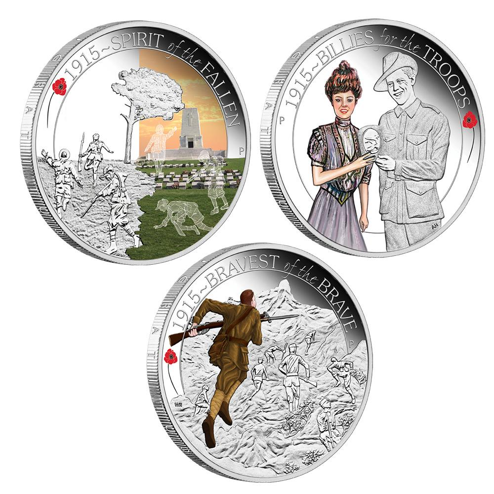 Coins Australia The Anzac Spirit 100th Anniversary Coin
