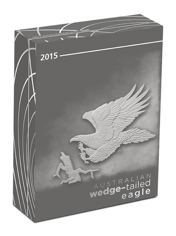 Coins Australia 2015 Wedge Tailed Eagle 1oz Platinum