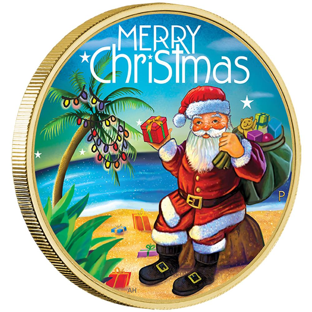 coins australia  christmas 2015 stamp and coin cover