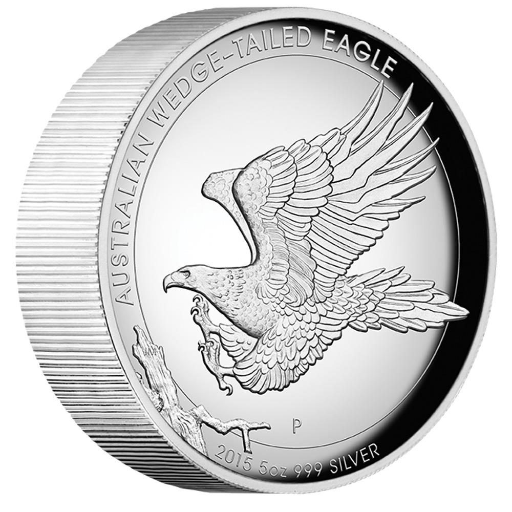 Coins Australia Australian Wedge Tailed Eagle 2015 5oz