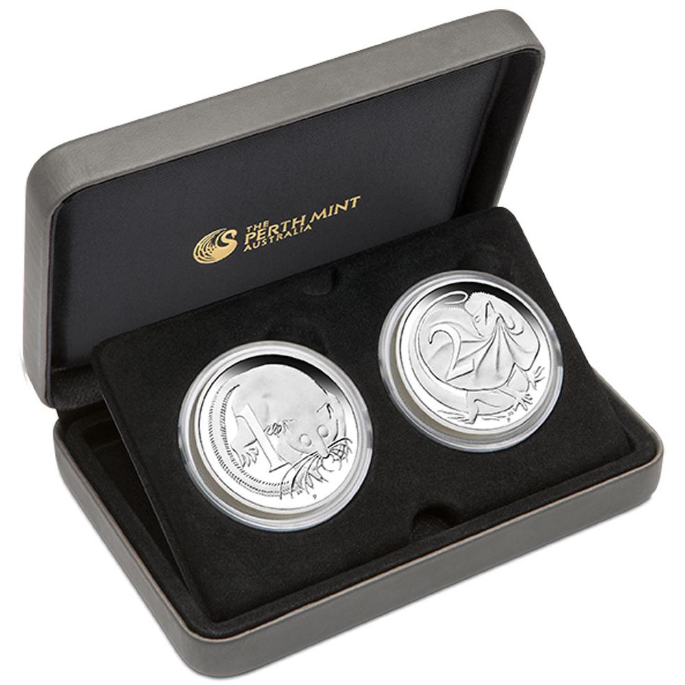 Coins Australia 50th Anniversary Of Australian Decimal