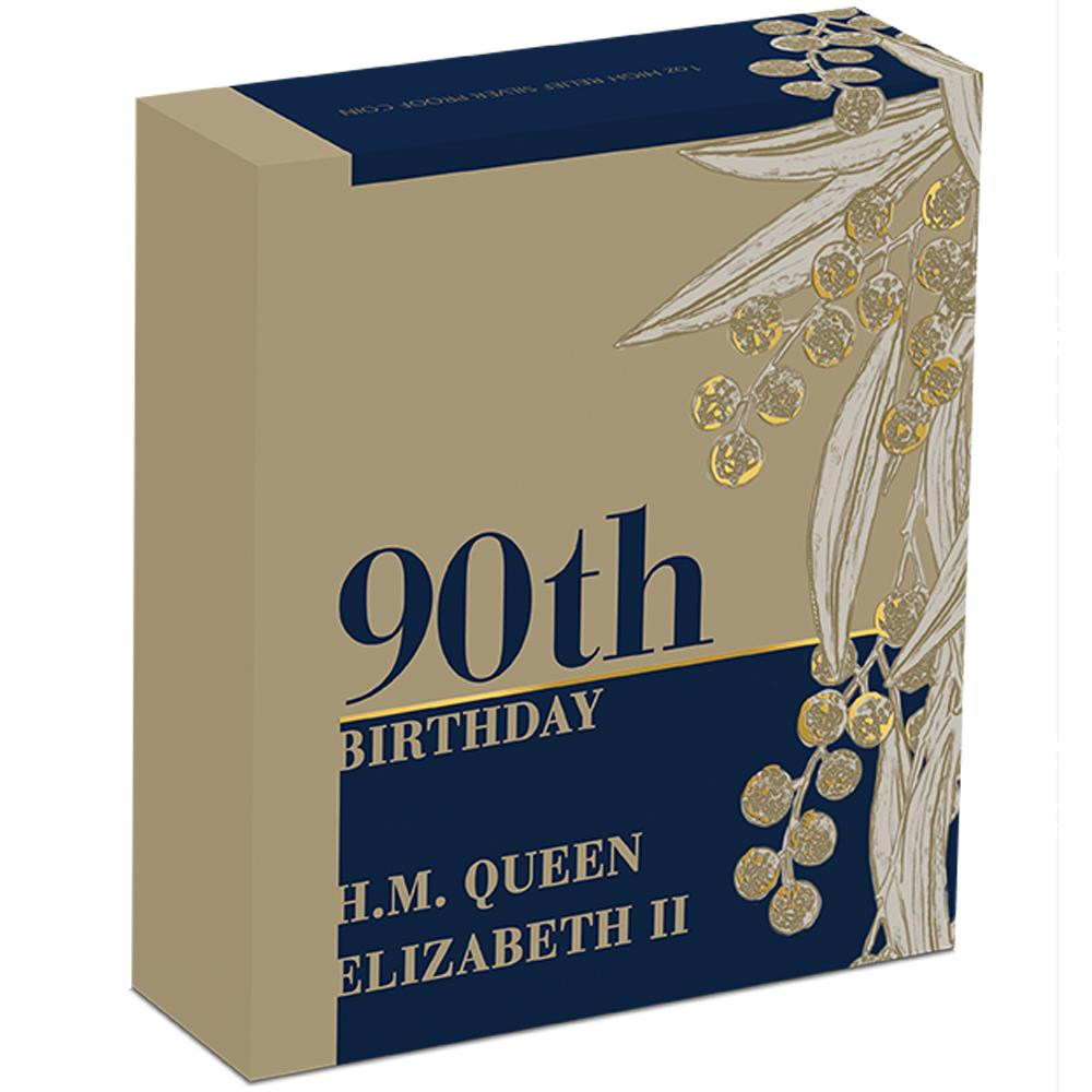queen elizabeth 2 90th birthday coin