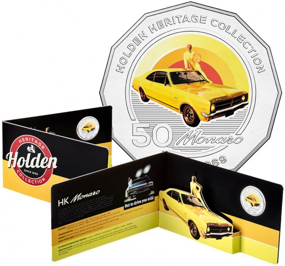 2016 Holden Heritage Collection FJ Classic Car 50c Coin in Card