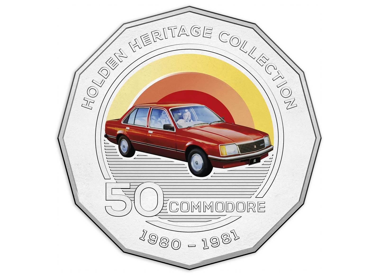 Coins Australia - 2016 50c Holden Heritage - VC Commodore
