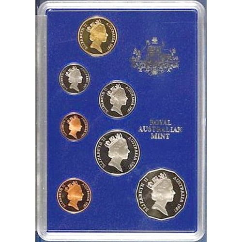Coins Australia 1987 Australian Proof Coin Set