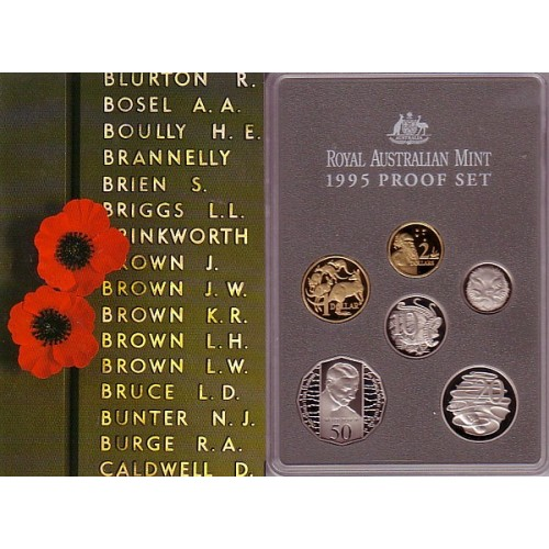Coins Australia 1995 Australian Proof Set