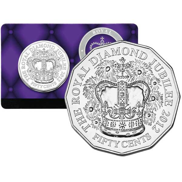 coin diamond jubilee